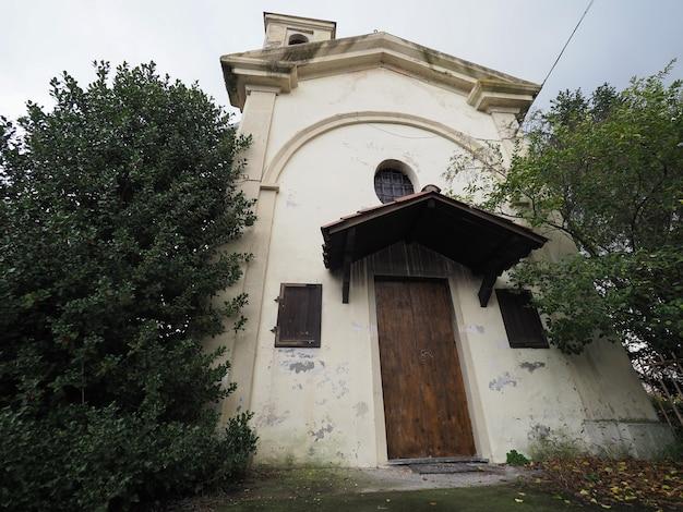 Igreja de san rocco (saint roch) em settimo torinese Foto Premium