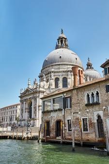 Igreja de santa maria della salute em veneza