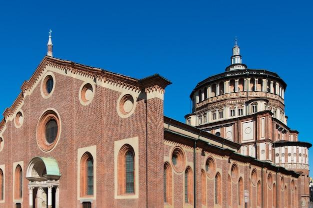Igreja de santa maria delle grazie, milão, itália
