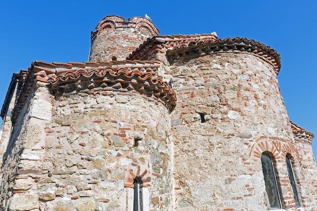 Igreja de são joão batista em nessebar, bulgária. construída no final do século x.