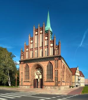 Igreja de são pedro e paulo em stettin, polônia