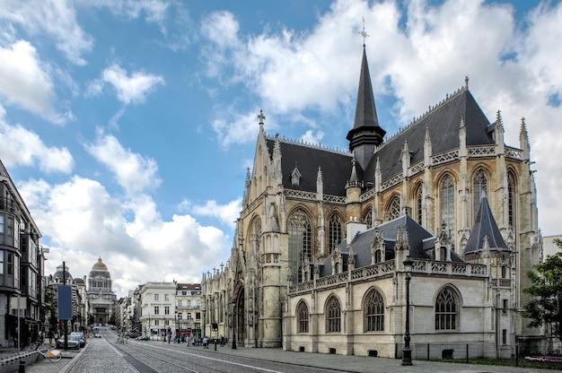 Igreja de são pedro em leuven, flandres, bruxelas bélgica