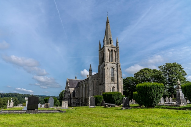 Igreja de shillelagh e cemitério, condado wicklow.