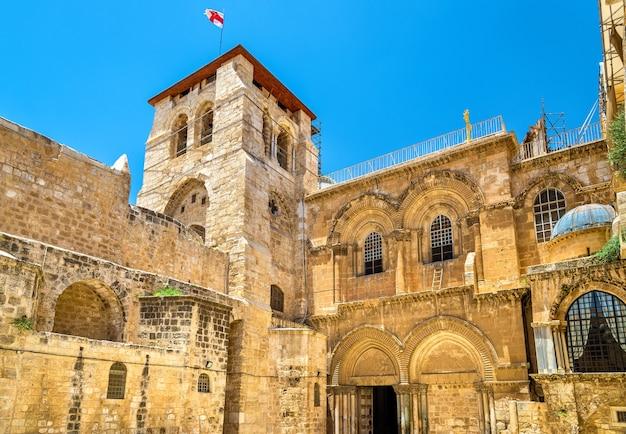 Igreja do santo sepulcro em jerusalém - israel