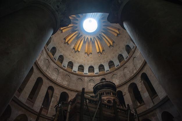 Igreja do santo sepulcro em jerusalém, israel