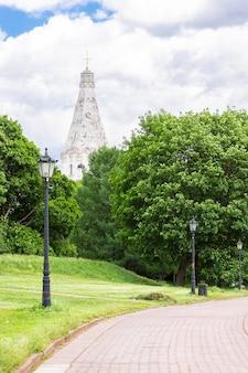 Igreja em kolomenskoye park