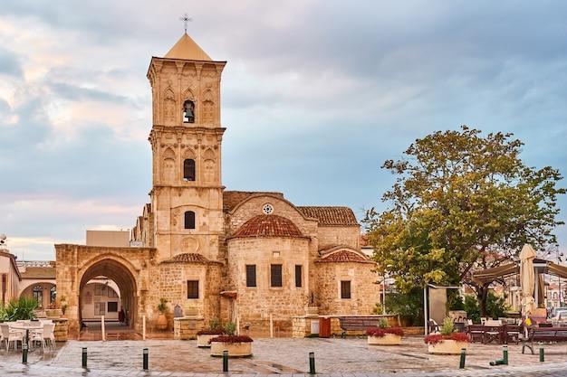 Igreja grega de são lázaro em larnaca, chipre