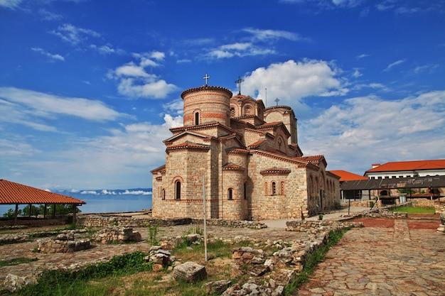 Igreja na cidade de orquídea, macedônia