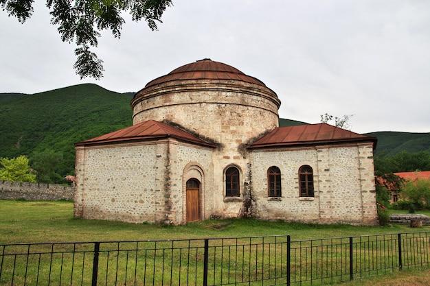 Igreja na cidade de sheki, azerbaijão