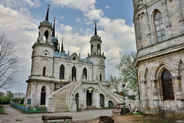 Igreja no solar de bykovo, igreja do ícone vladimir da mãe de deus