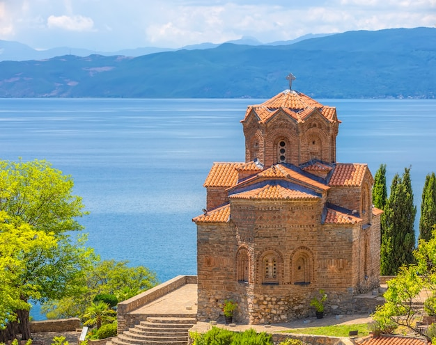 Igreja ortodoxa de são joão kaneo em ohrid noth macedônia