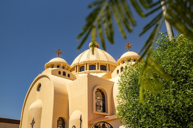 Igreja ortodoxa em sharm el sheikh, egito