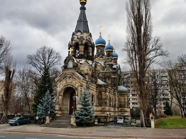 Igreja ortodoxa russa dresden