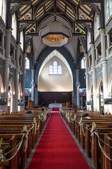 Igreja para dentro