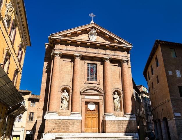Igreja san cristoforo em siena itália