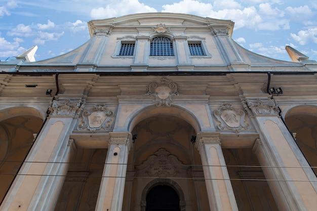 Igreja santi vittore e carlo em gênova