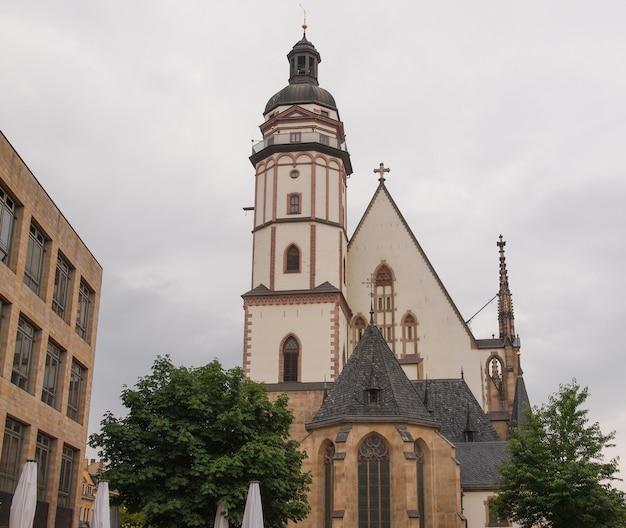 Igreja thomaskirche em leipzig