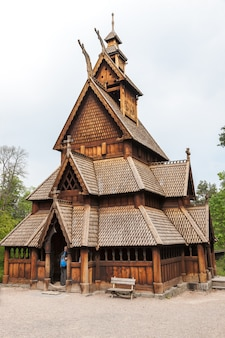 Igreja velha da noruega