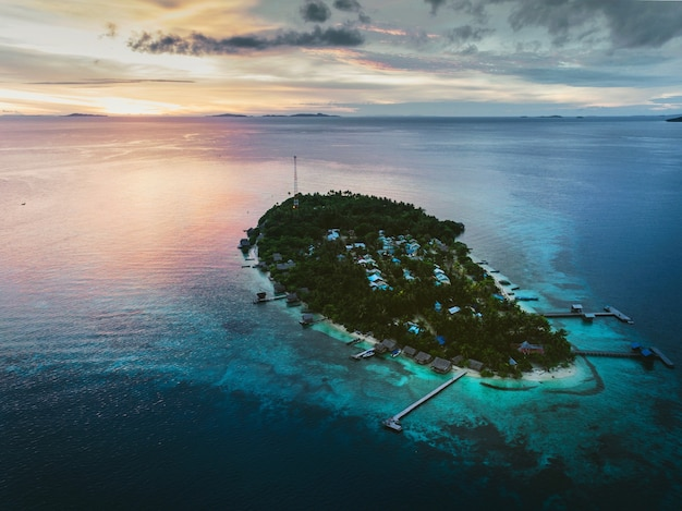 Ilha / atol de arborek