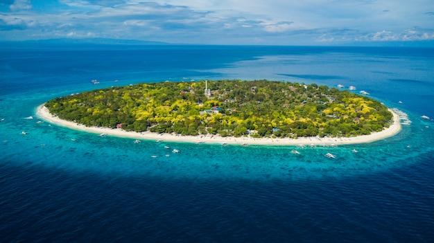 Ilha balicasag, ilha isolada nas filipinas