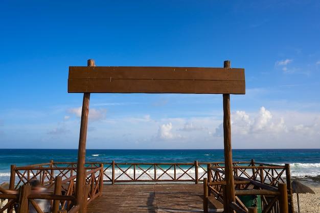 Ilha de cozumel, san martin, no méxico