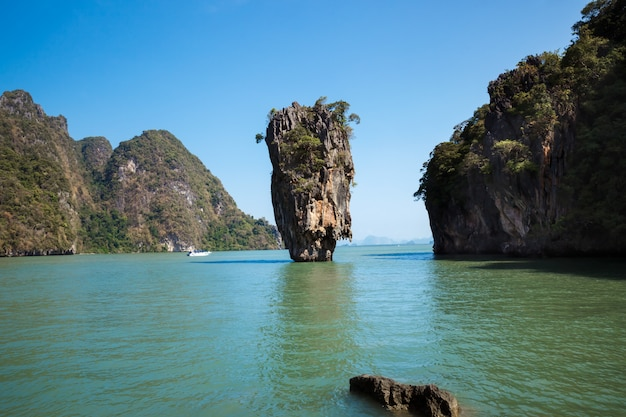 Ilha de james bond, phang nga, tailândia