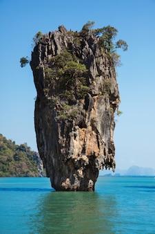 Ilha de james bond, phang nga, tailândia