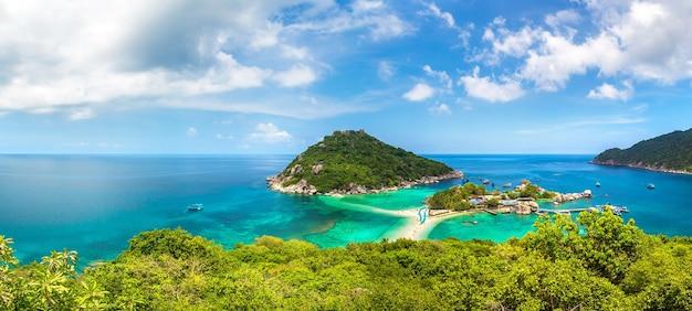 Ilha nang yuan, koh tao, tailândia