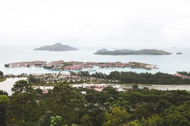 Ilha tropical maurícia