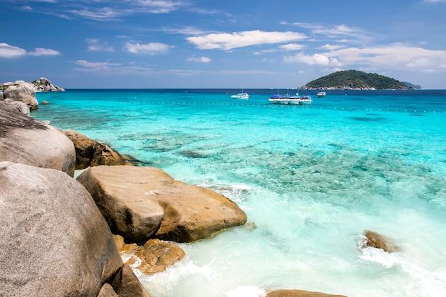 Ilhas similan, mar de andaman, tailândia