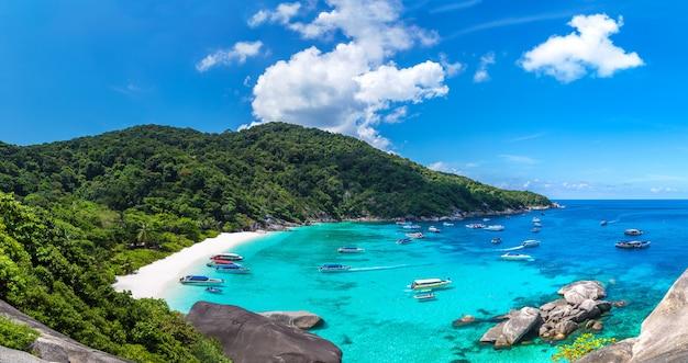 Ilhas similan na tailândia