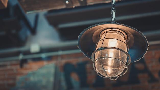 Iluminação da lâmpada do teto