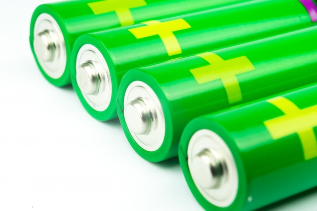 Iluminação de bateria alcalina