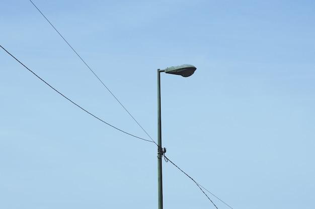 Iluminação pública na cidade