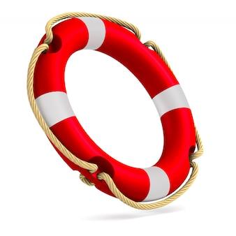Ilustração 3d do anel de vida