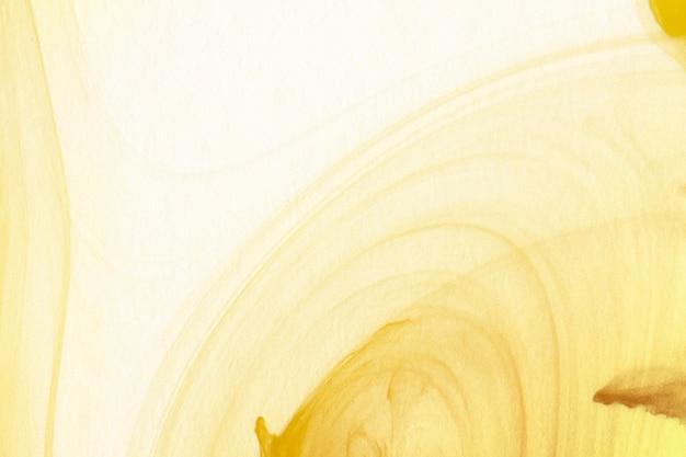 Ilustração abstrata de aquarela dourada