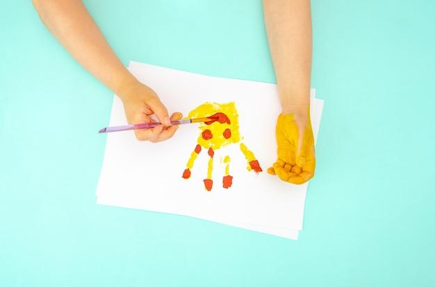 Ilustração colorida infantil