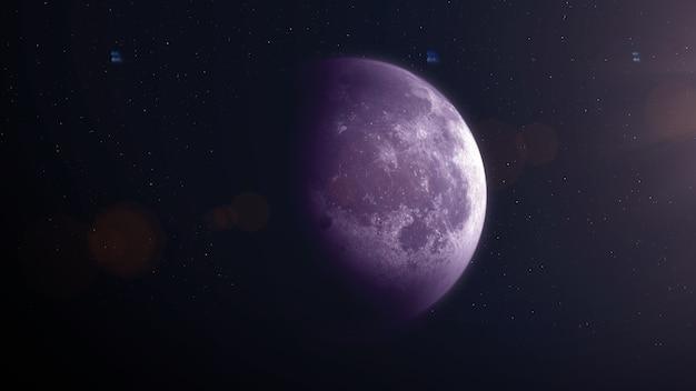 Ilustração da lua