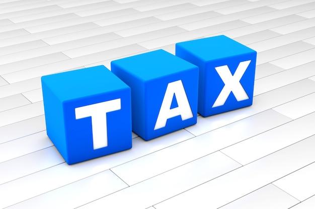 Ilustração da palavra fiscal