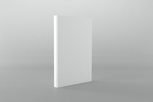 Ilustração da renderização em 3d do modelo da capa do livro