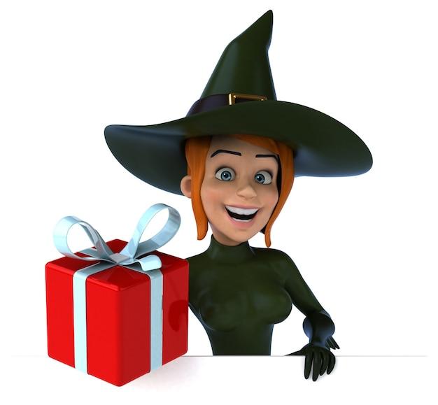 Ilustração de bruxa