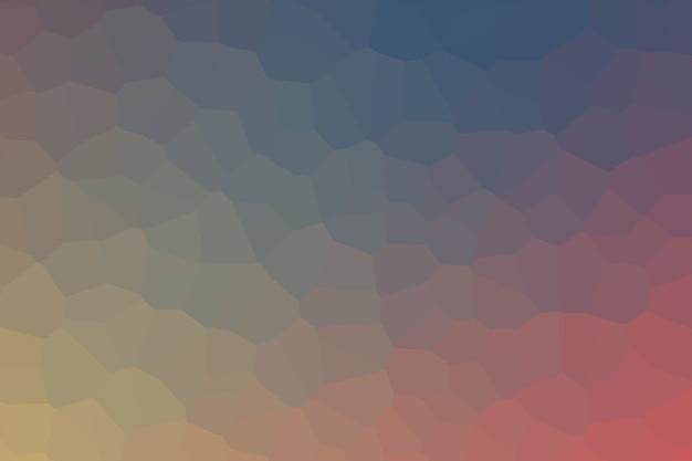 Ilustração de fundo de célula gradiente multicolorido abstrato nas cores da moda 2020