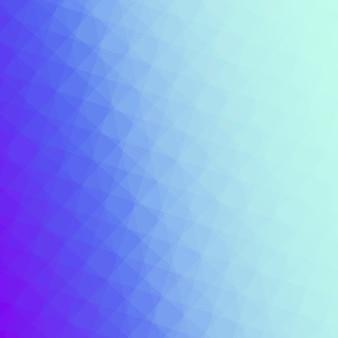 Ilustração de fundo em mosaico azul ombre