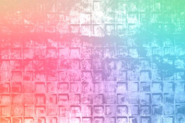Ilustração de fundo estampado de ladrilhos coloridos grunge