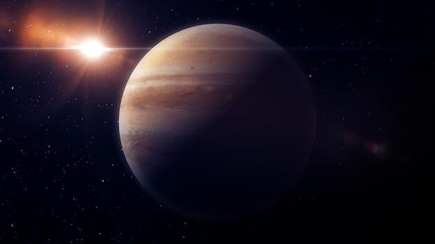 Ilustração de júpiter