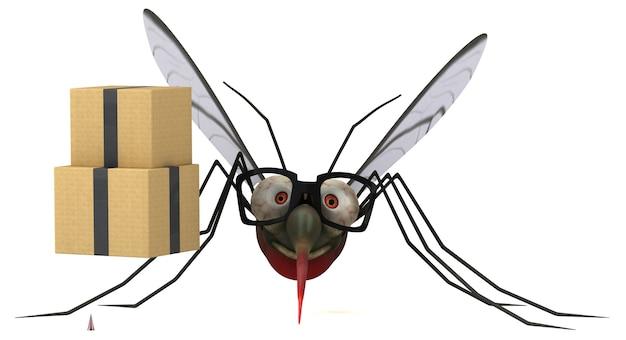 Ilustração de mosquito