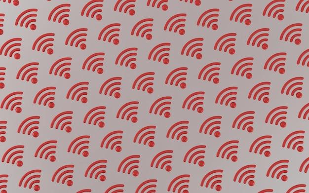 Ilustração de sinal 3d
