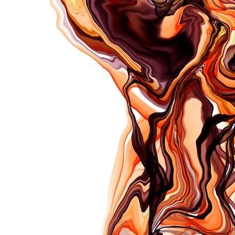 Ilustração do estilo criativo moderno com fundo de arte de tinta de álcool. design gráfico. padrão artístico moderno. textura colorida. pintura bonita. arte contemporânea. tinta líquida. ilustração de tinta.