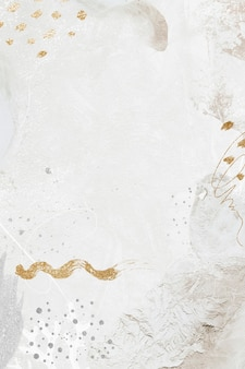 Ilustração do fundo social em tom de branco neo memphis