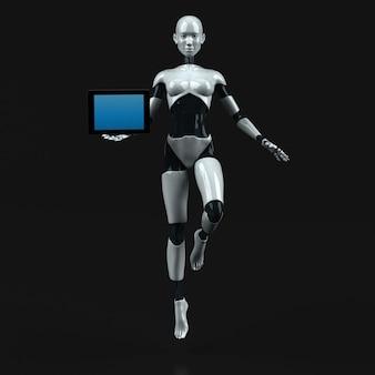 Ilustração do robô